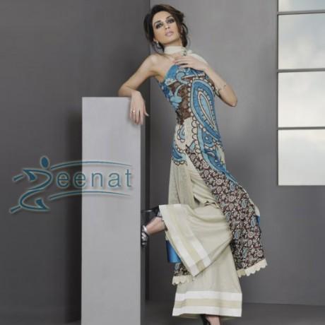 Iman Ali In Parallel Kameez Suite