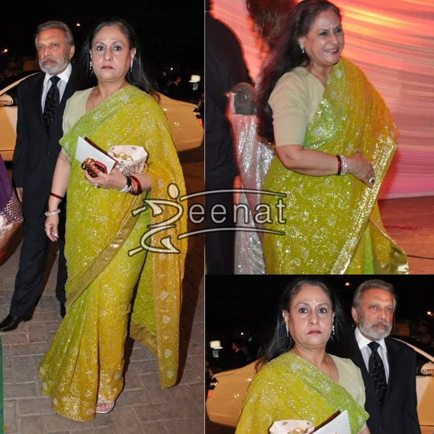 Jaya Bachchan In Indian Green Saree