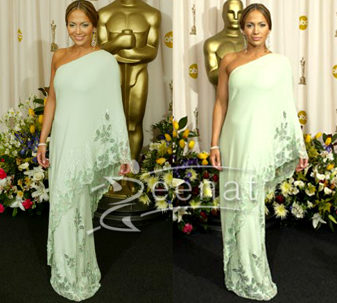 Jennifer Lopez Saree Gown