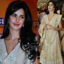 Katrina Anarkali Churidar style