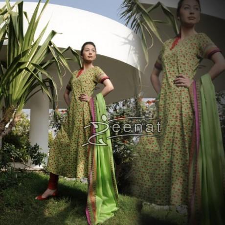 Rubya Chaudhary In Churidar Suite