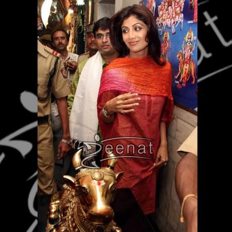 Shilpa Shetty In Casual Kurta style