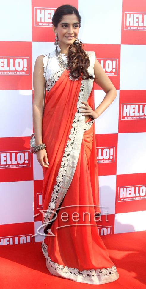 Latest celebrity sarees nfl