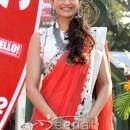 Sonam Kapoor Red Saree (6)