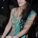 Tara Sharma in Green Choli Lehenga