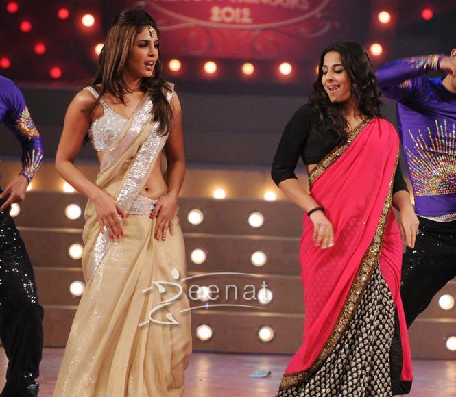Priyanka Chopra Designer Sarees Zeenat Style