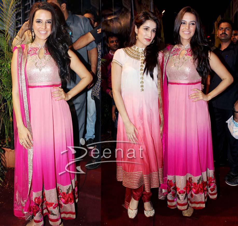 Neha Dhupia In Bollywood Anarkali
