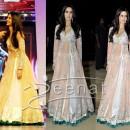 Royal Designer Frock Style Katrina Kaif Suits