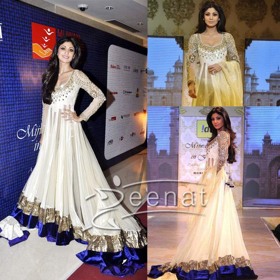 Shilpa-In-Manish-Malhotras-Lehenga-Design