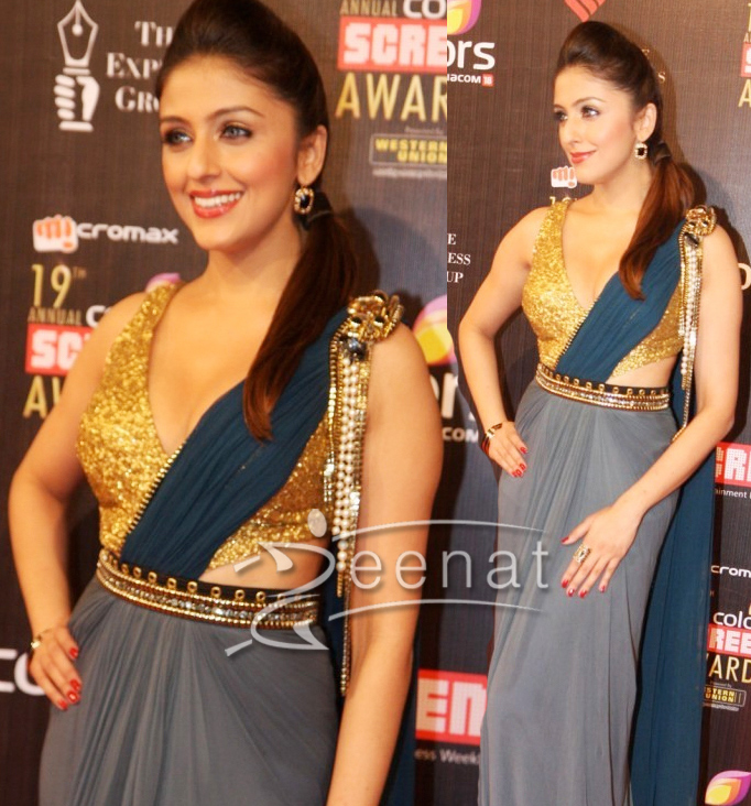 Aarti Chabria In Vintage Sareesque