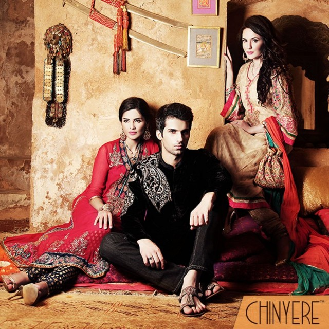 Chinyere Winter Raj-e-Tarangini Collection 2013