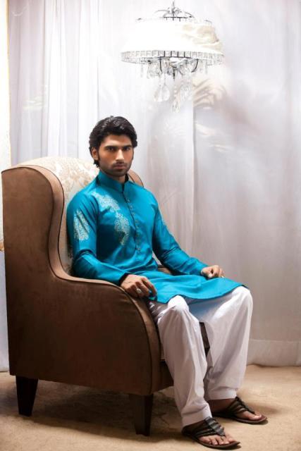 Emraan-Rajput-Casual-Wear-Kurta-Designs-2013-For-Men-2