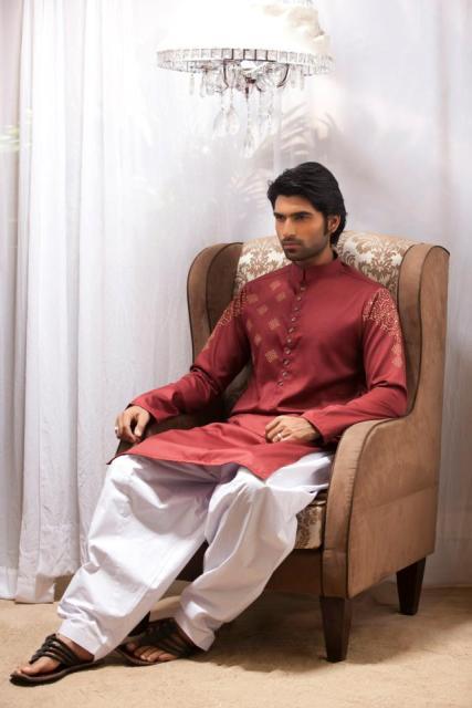 Emraan-Rajput-Casual-Wear-Kurta-Designs-2013-For-Men-6