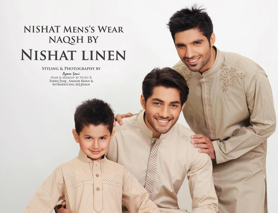 Men-Kurta-Collection-2012-By-Naqsh-Of-Nishat-linen-by-Nishat-Group (1)