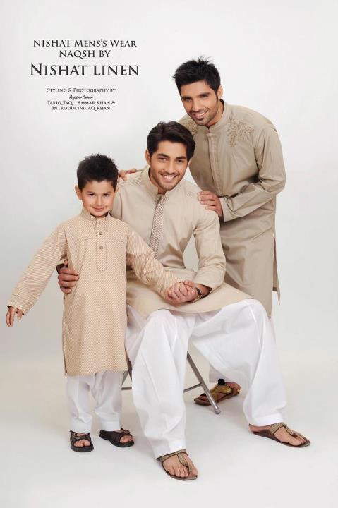 Menswear Kurta Collection 2012 by Nishat Linen-aanchalmag (10)