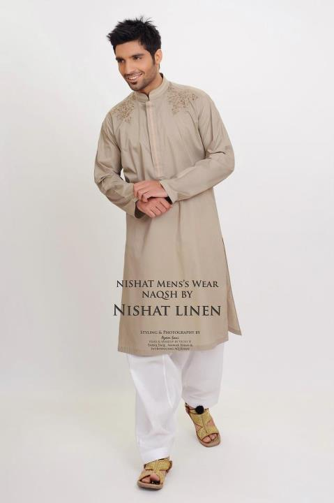 Menswear Kurta Collection 2012 by Nishat Linen-aanchalmag (4)