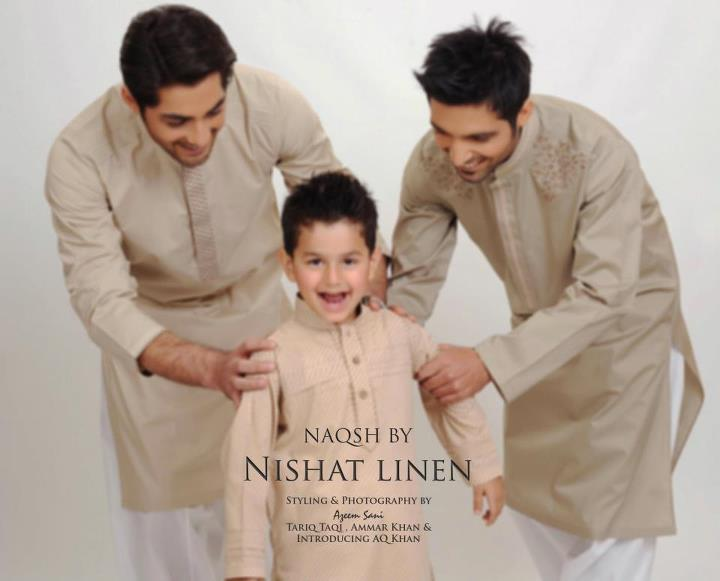 Menswear Kurta Collection 2012 by Nishat Linen-aanchalmag
