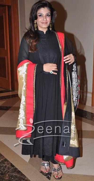 Raveena-Tandon-In-Sabyasachi-Anarkali3 | Zeenat Style Sabyasachi Anarkali Suits Collection 2013