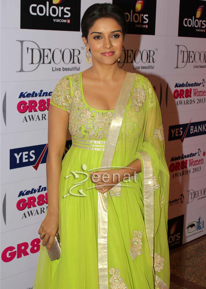 Asin Thotumkal In Green Frock