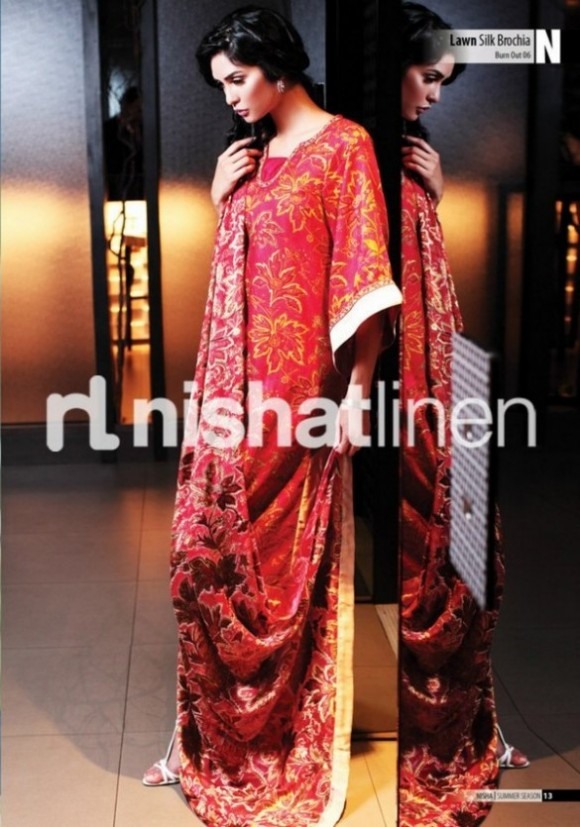 Nishat-Linen-Spring-Summer-Collection-2013-7-580×827