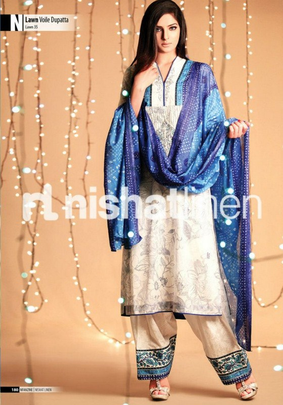 Nishat Linen Lawn Collection 2013