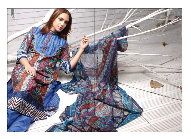 Rabea Embroidered Lawn Collection 2013 By Shariq-10
