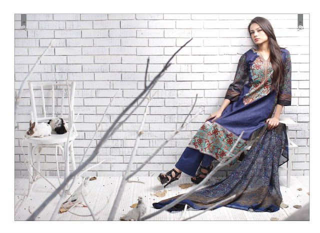 Rabea Embroidered Lawn Collection 2013 By Shariq-11