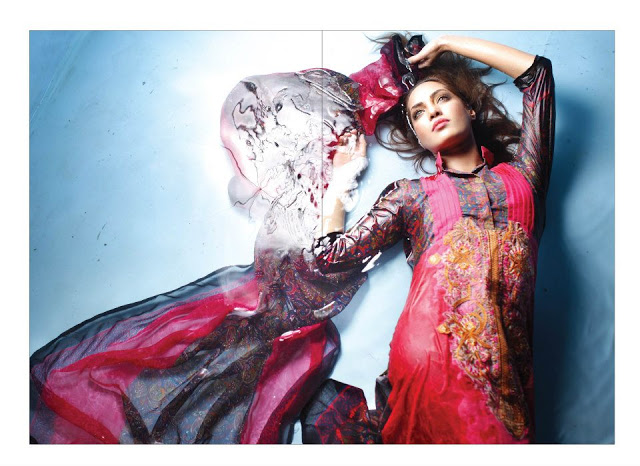 Rabea Embroidered Lawn Collection 2013 By Shariq-12