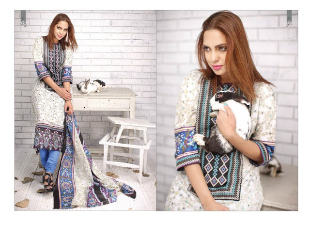 Rabea Embroidered Lawn Collection 2013 By Shariq-13