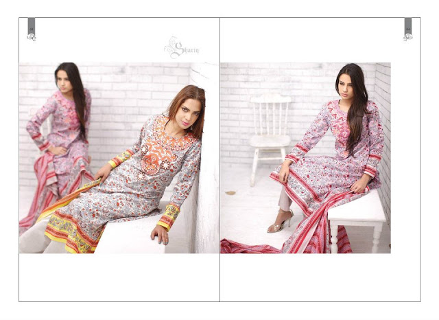 Rabea Embroidered Lawn Collection 2013 By Shariq-14
