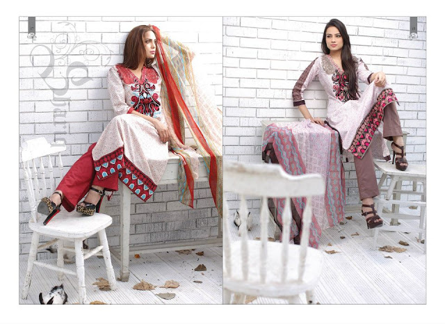 Rabea Embroidered Lawn Collection 2013 By Shariq-16