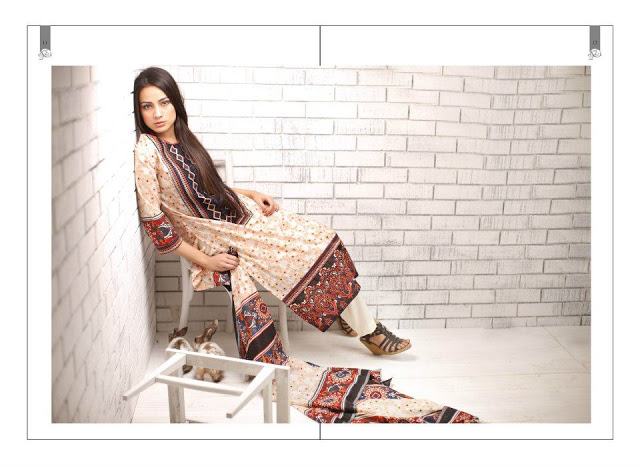 Rabea Embroidered Lawn Collection 2013 By Shariq-18