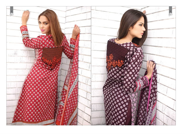 Rabea Embroidered Lawn Collection 2013 By Shariq-19