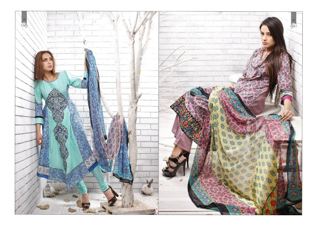 Rabea Embroidered Lawn Collection 2013 By Shariq-3