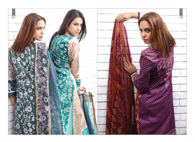 Rabea Embroidered Lawn Collection 2013 By Shariq-4