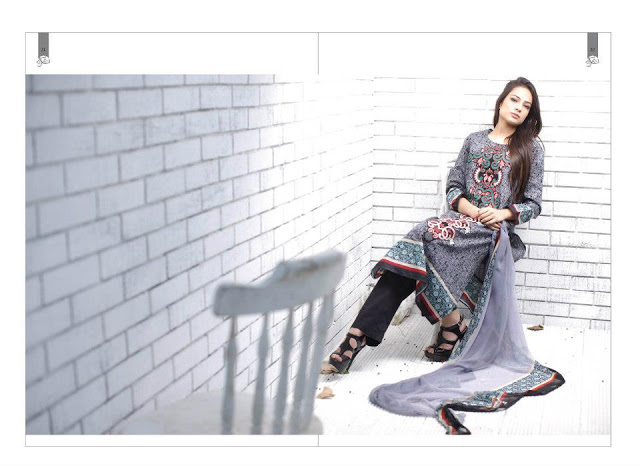 Rabea Embroidered Lawn Collection 2013 By Shariq-5