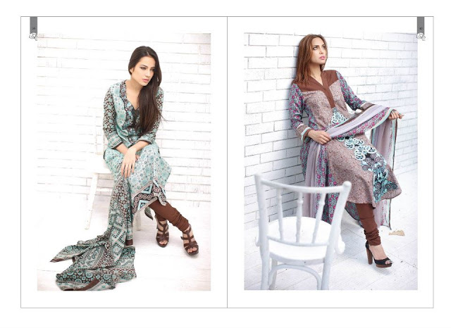Rabea Embroidered Lawn Collection 2013 By Shariq-6