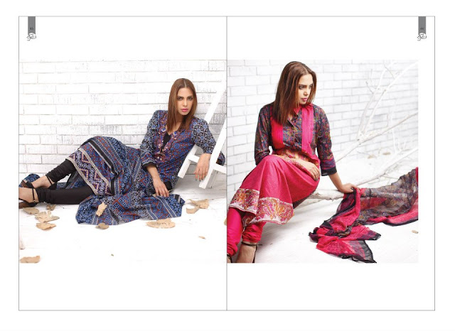 Rabea Embroidered Lawn Collection 2013 By Shariq-7