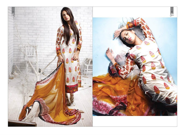 Rabea Embroidered Lawn Collection 2013 By Shariq-8