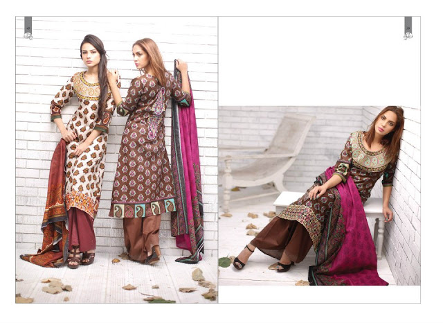 Rabea Embroidered Lawn Collection 2013 By Shariq-9