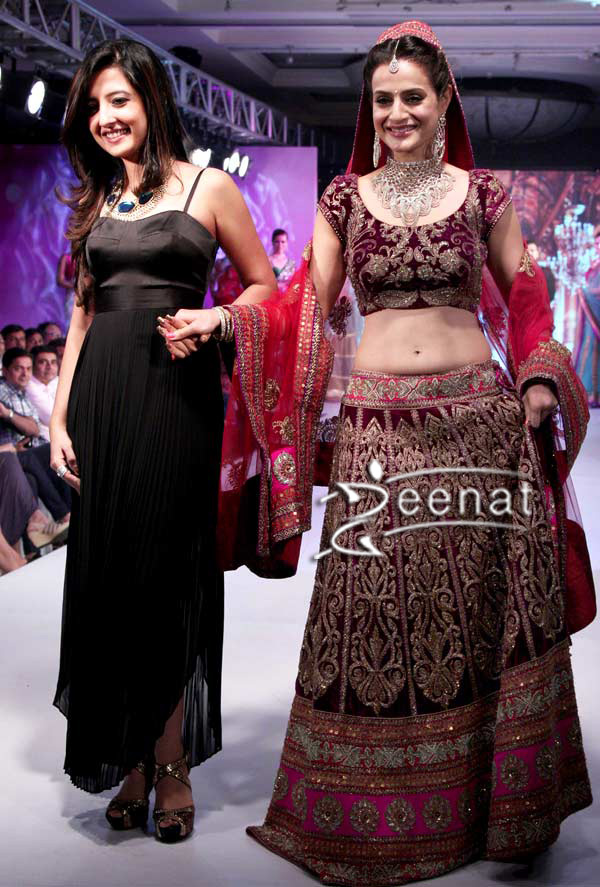 Amisha Patel In Designer Lehenga Choli