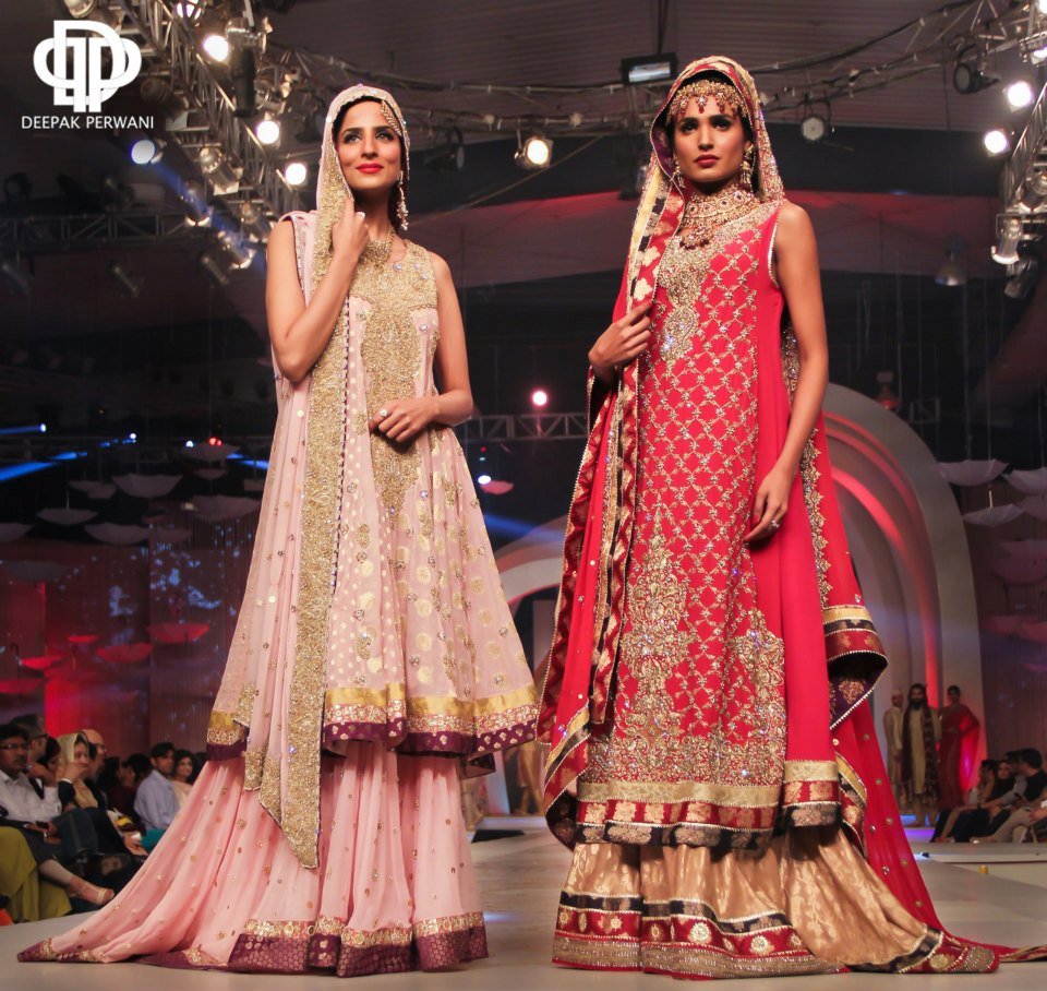 a8a3cf9ce5 Deepak Perwani Collection At Pantene Bridal Couture Week 2013