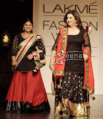 Farah Khan In Designer Vikram Phadnis Lehenga