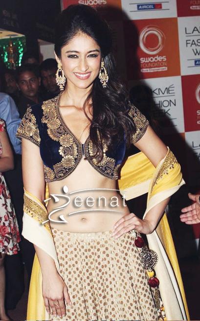 Ileana D'Cruz In Designer Vikram Phadnis Lehenga Choli