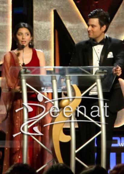 Mahira Khan In Maroon Misha Khan Lakhani Dress