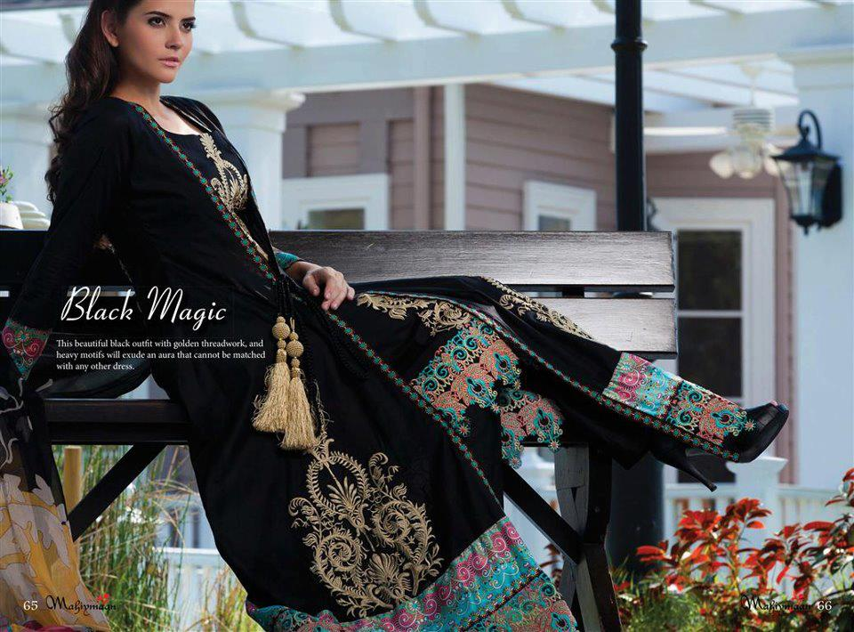 Mahiymaan Lawn Signature Series – Spring/Summer Collection 2013