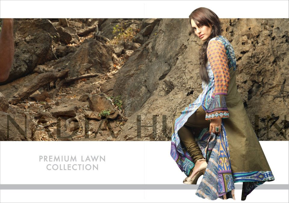 Nadia Husssain Premium Lawn Collection 2