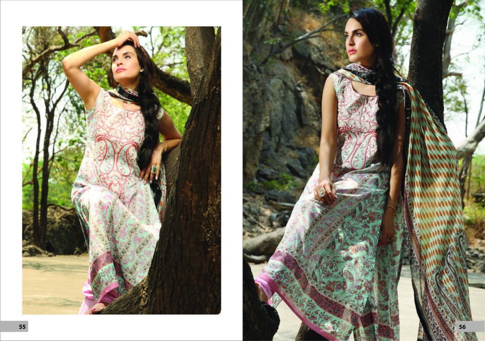 Nadia Husssain Premium Lawn Collection 27