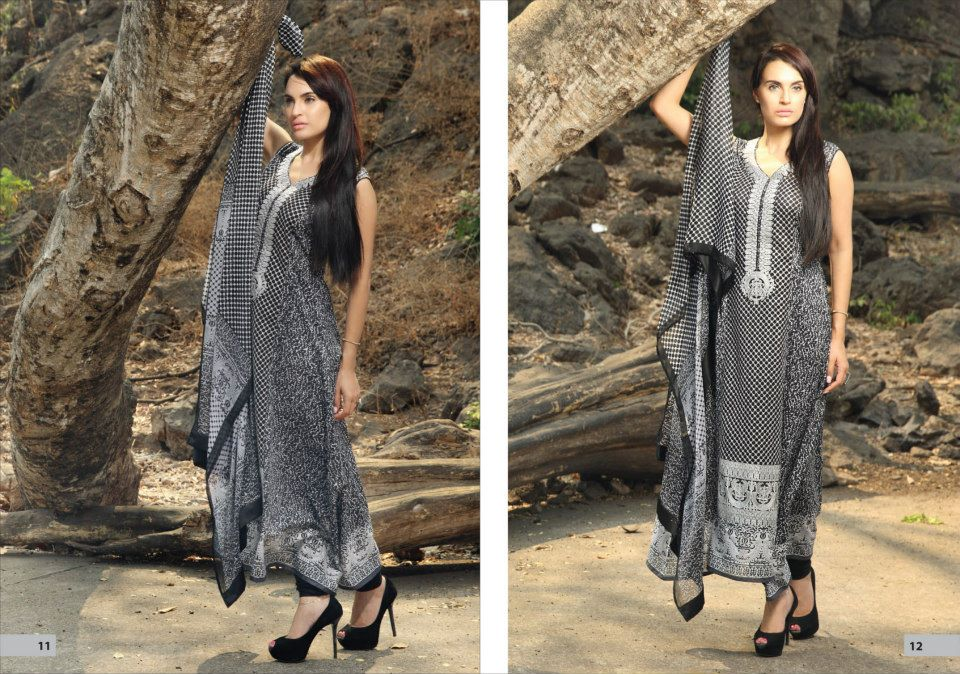 Nadia Husssain Premium Lawn Collection 8