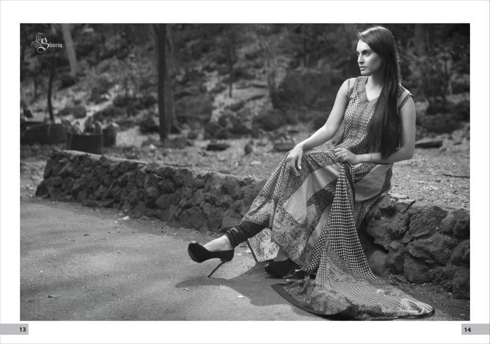 Nadia Husssain Premium Lawn Collection 9